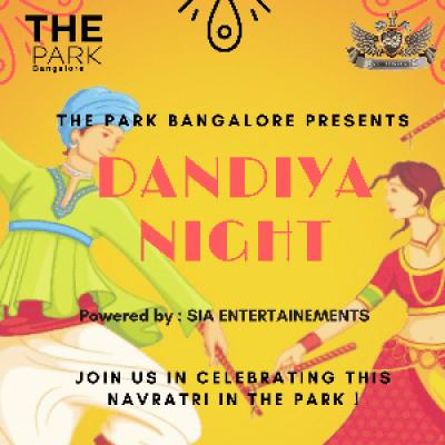 Dandiya Night At the Park Hotel (Cancelled)