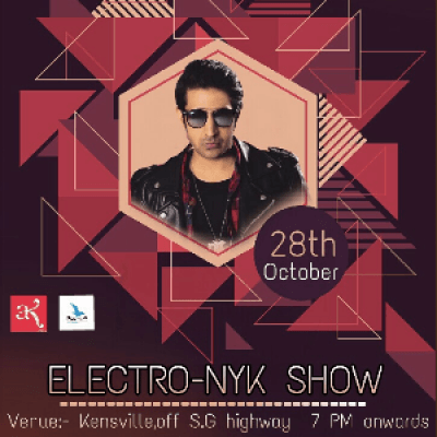 Dj NYK Live Electro-Nyk Show