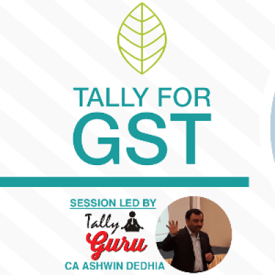 Seminar on GST Returns Reports Reconciliation &amp Setup in Tally - 4th Oct 2017