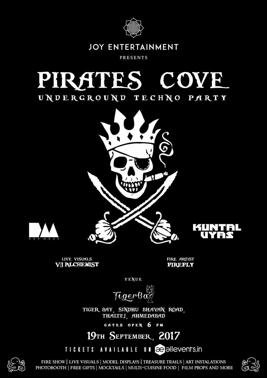 Pirates Cove Open Air Techno Party