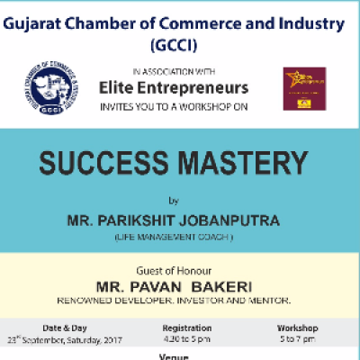 Workshop on success mastery