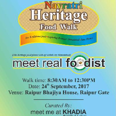 Navratri Heritage Food Walk