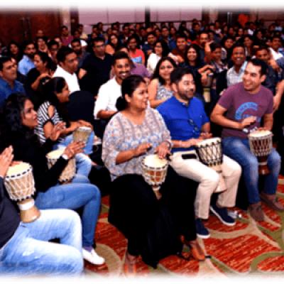 Music Tribe Corporate Drum Circle