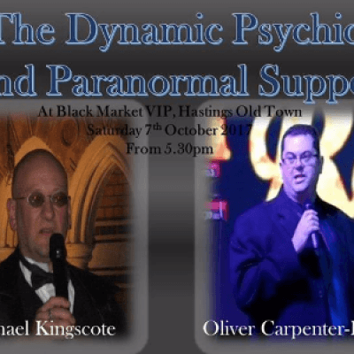 Dynamic Psychic &amp Paranormal Supper-Blackmarket VIP-Hastings