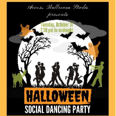 Halloween Social Dance Party Toronto