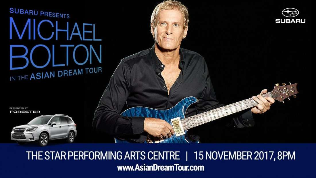 MICHAEL BOLTON - THE ASIAN DREAM TOUR LIVE AT SINGAPORE
