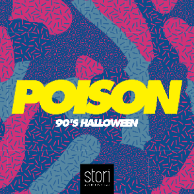 POISON  90s Halloween Party inside Stori