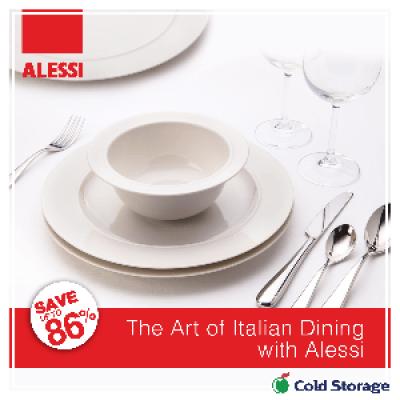 Alessi Dinnerware Promotion