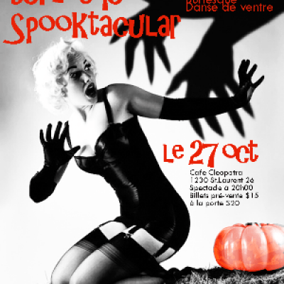 Halloween Spooktacular Burlesque Show &amp Party