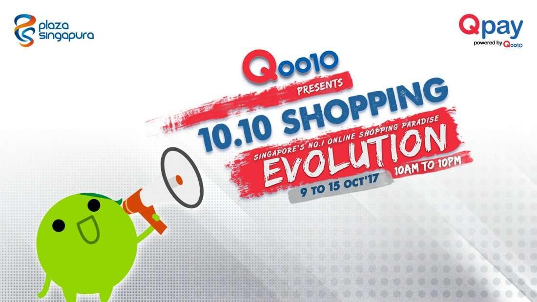 Qoo10 10.10 Shopping Evolution 2017