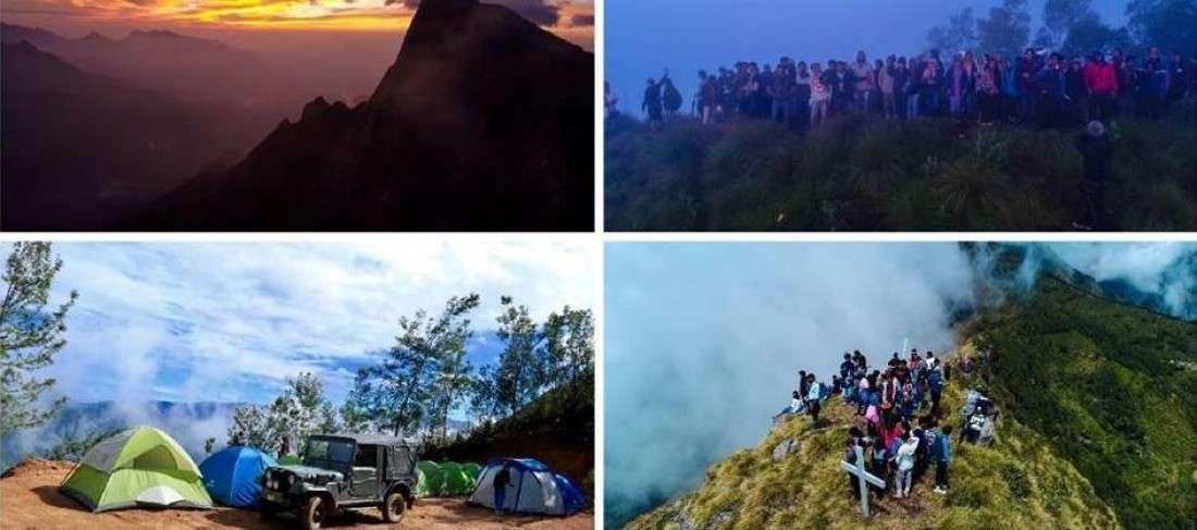 Camp & Sunrise Trek  Kolukkumalai (Munnar)