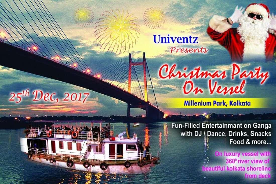 CHRISTMAS CELEBRATION 2017 ON VESSEL