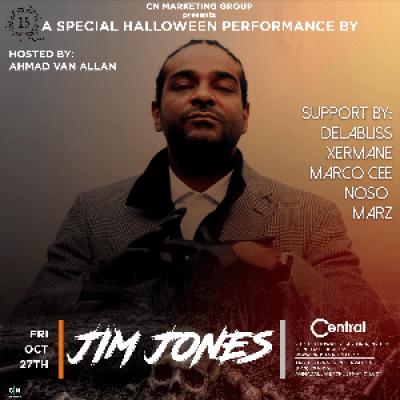 JIM JONES LIVE  CENTRAL (HALLOWEEN PERFORMANCE)