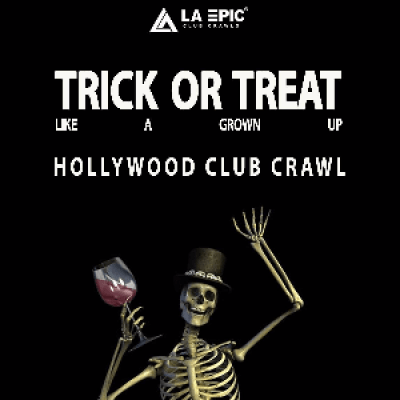 Hollywood Halloween Bar Crawl