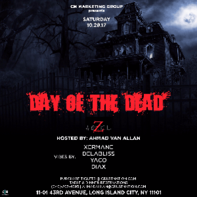 Z HOTEL PRESENTS A HALLOWEEN EVENT W XERMANE &amp DELABLISS