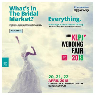 18th KLPJ Wedding Fair 2018 (APRIL) Mid Valley Exhibition Centre