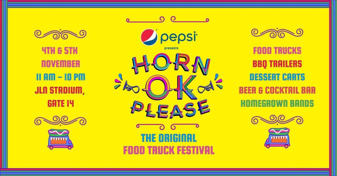HORN OK PLEASE - Food Truck Festival
