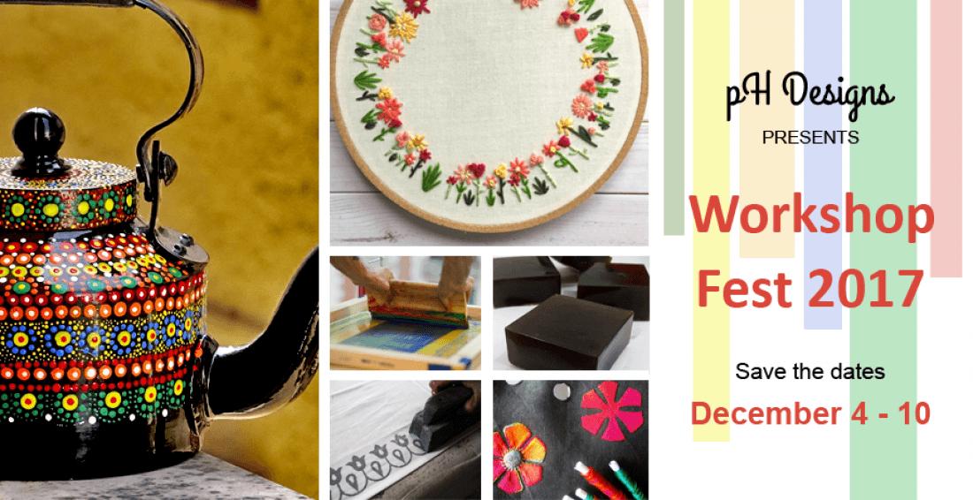 Workshop Fest 2017 by pH Designs