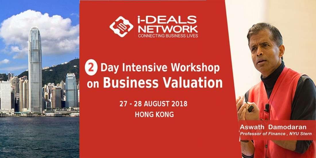 Business Valuation With Aswath Damodaran - 27- 28th Aug18  Hong Kong