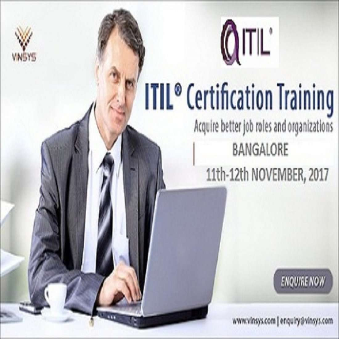 Itil Foundation Certification Training Bangalore In Vinsys At Btm