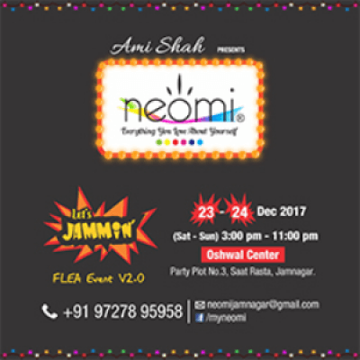 Neomi - Lets Jammin - Flea Event V2.0 - Book your Stall