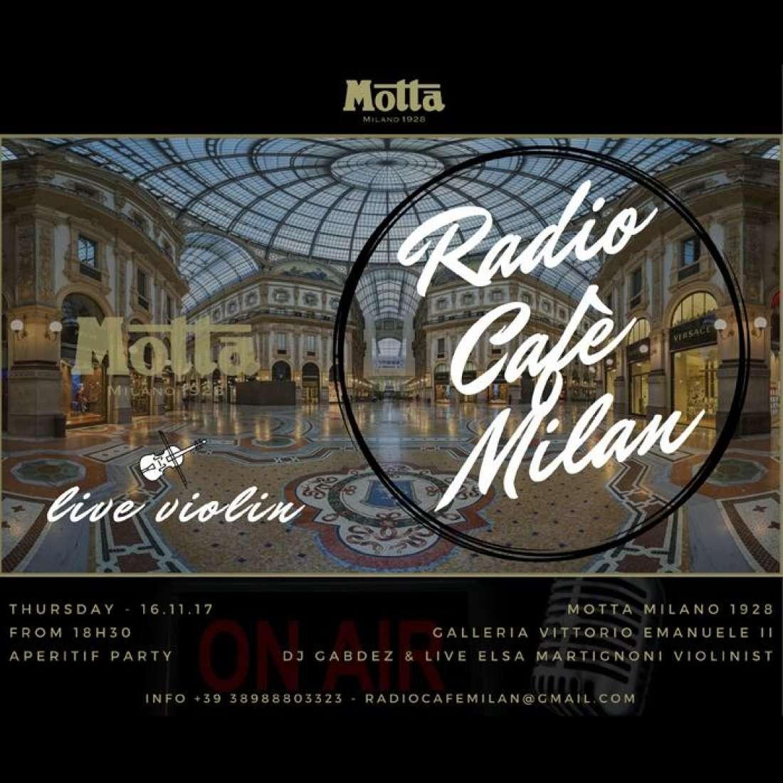 Radio Caf Milano - Live Violin