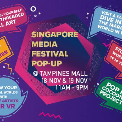 Singapore Media Festival Pop-up
