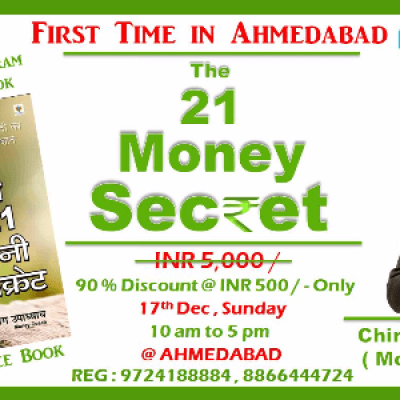 The 21 MONEY Secret Live By Chirag Upadhyay - One Day Program