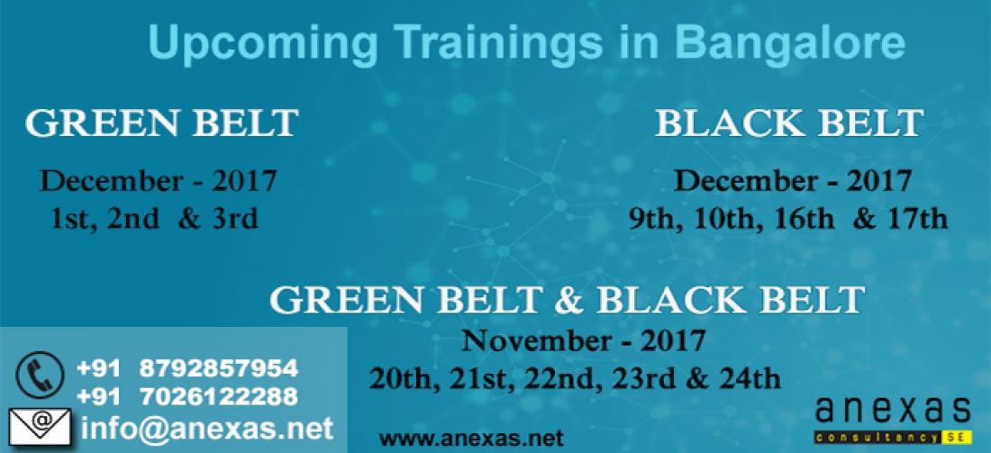 Lean Six Sigma Black Belt Training And Certification Weekend Batch