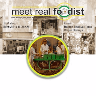 Meet real foodist (Heritage Food Walk)