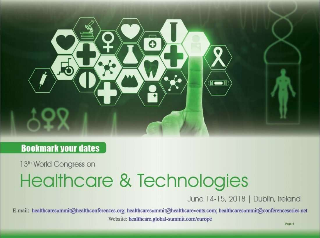 13th World Congress on Healthcare and Technologies Dublin Ireland