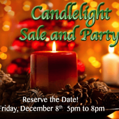 Candlelight Sale and Party