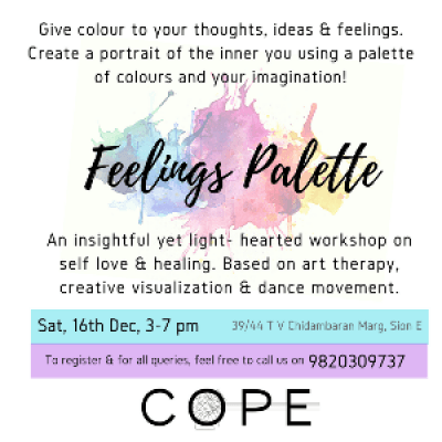Feelings Palette - Workshop on self-love &amp healing