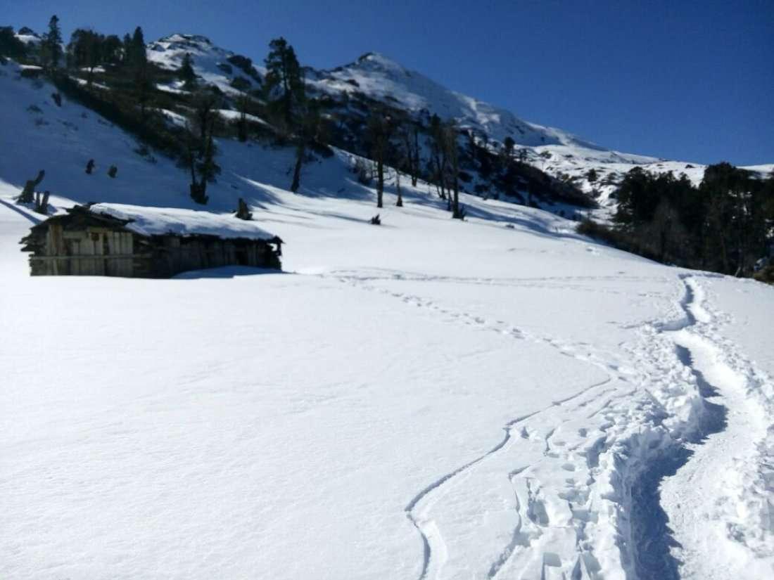 Hampta Pass Trekking Camp