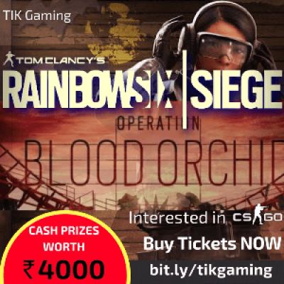 Rainbow Six Seige (Op Blood Orchid) Competition
