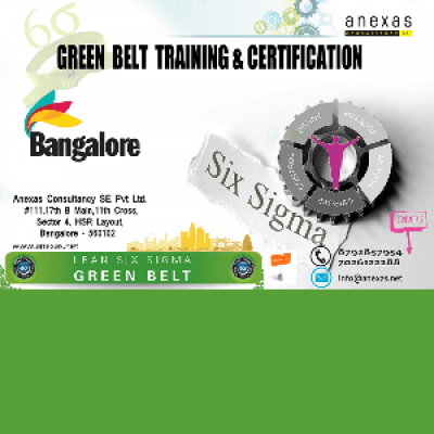 Lean Six Sigma Green Belt Training and Certification at Bangalore