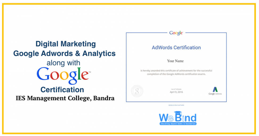 Google Adwords And Analytics Certification Training With Madhuri