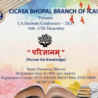 &quotParigyanam&quot pursue the knowledge (CICASA Bhopal)