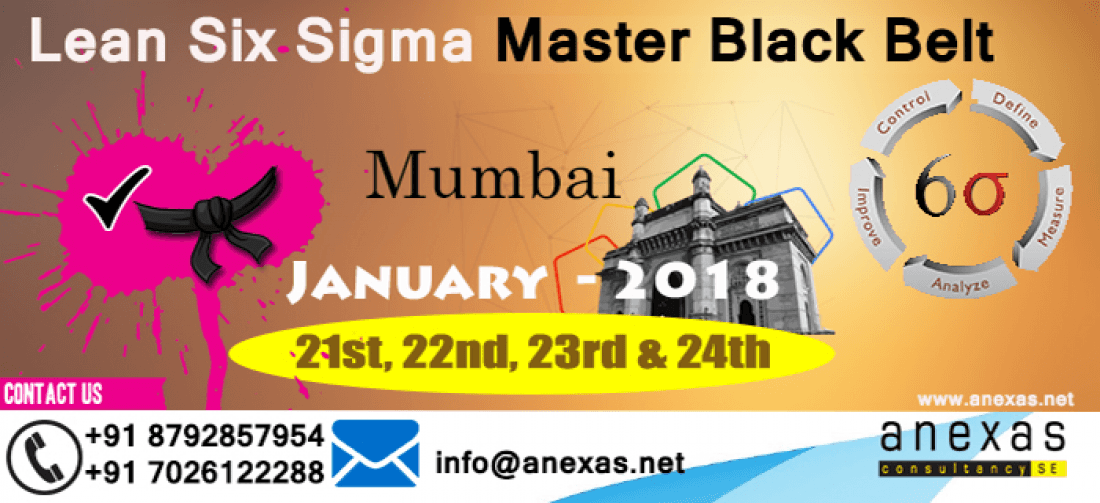 Lean Six Sigma Master Black Belt Training And Certification At Hotel