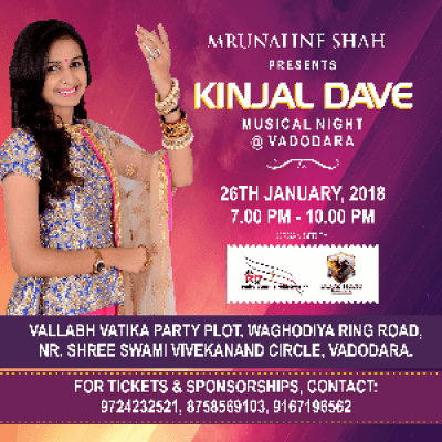 Musical Night with Kinjal Dave