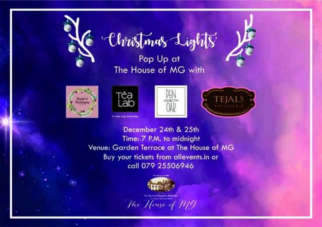 Christmas Lights - Pop Up at The House of MG
