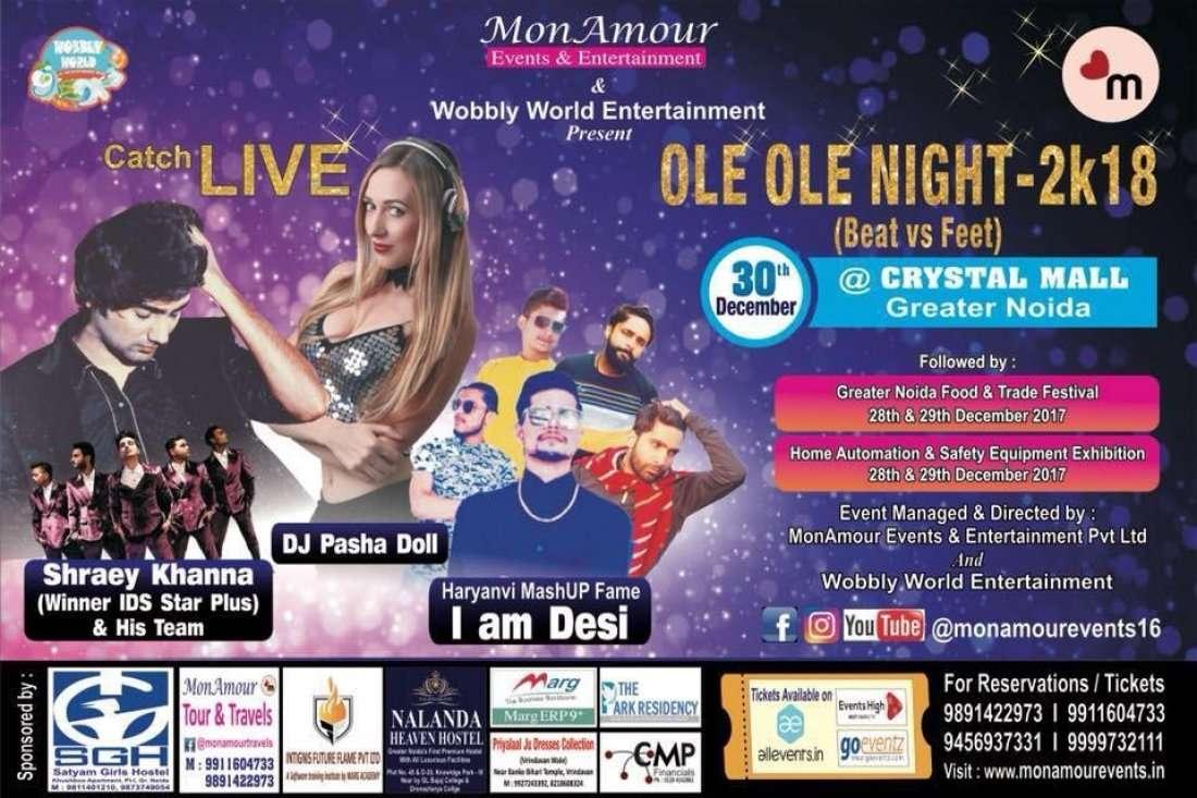 OLE-OLE Night-2k18 (Beat vs Feet)