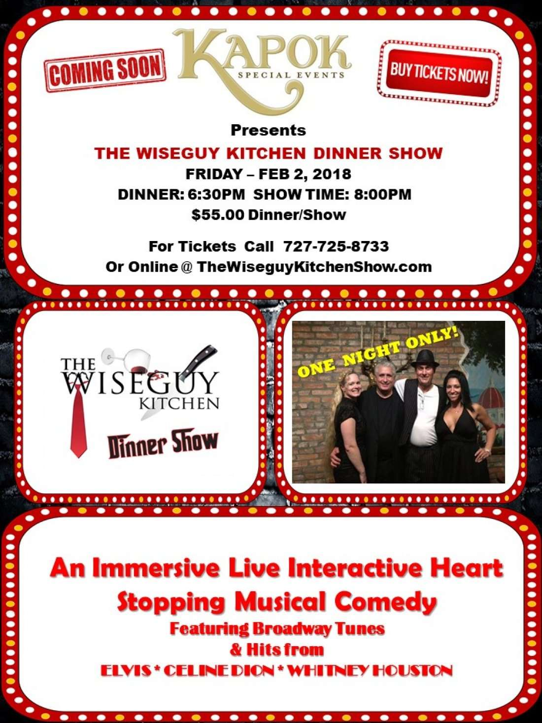THE WISEGUY KITCHEN SHOW