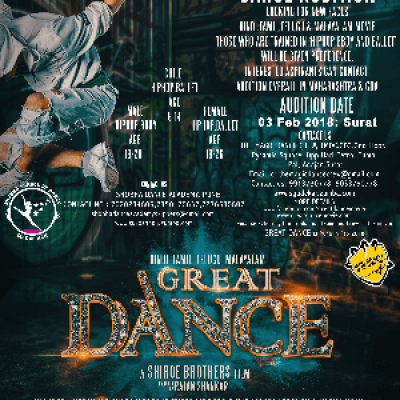 Dance Audition For Great Dance Movie -03 Feb 18 - Surat