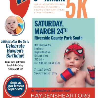 Haydens Heart 6th Annual 5K