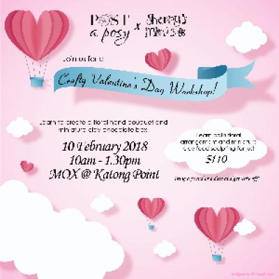 Crafty Valentines Day Workshop