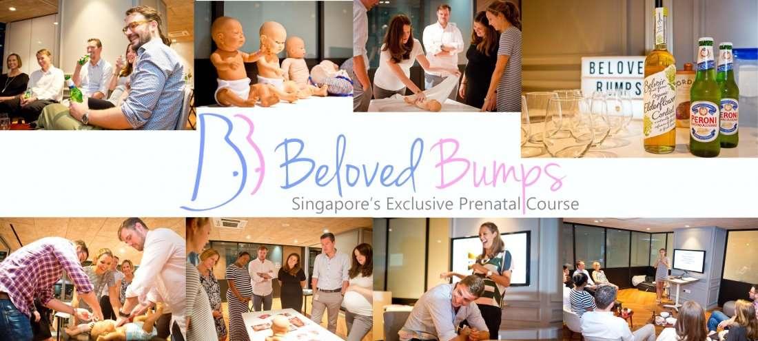 Prenatal (antenatal) classes for babies due in May 2018
