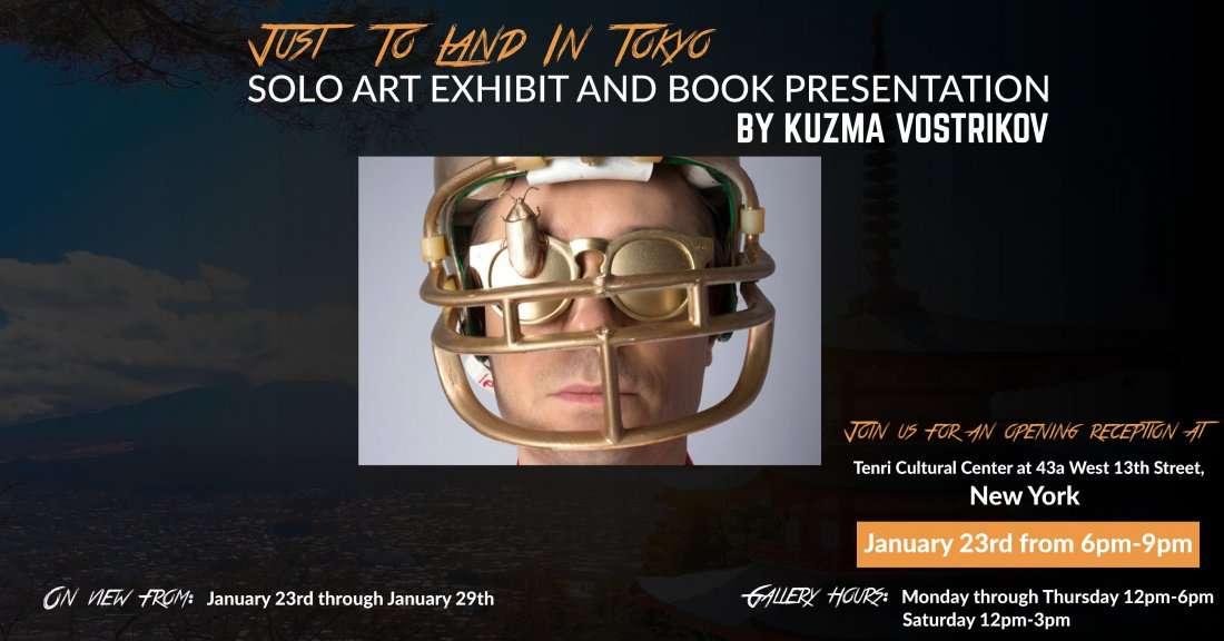Kuzma Vostrikov Art Exhibit and Book Presentation