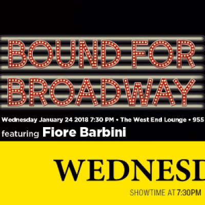 Bound For Broadway with Fiore Barbini