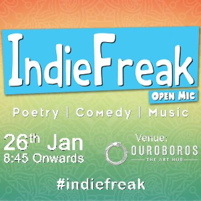 IndieFreak Open Mic 0.0.6
